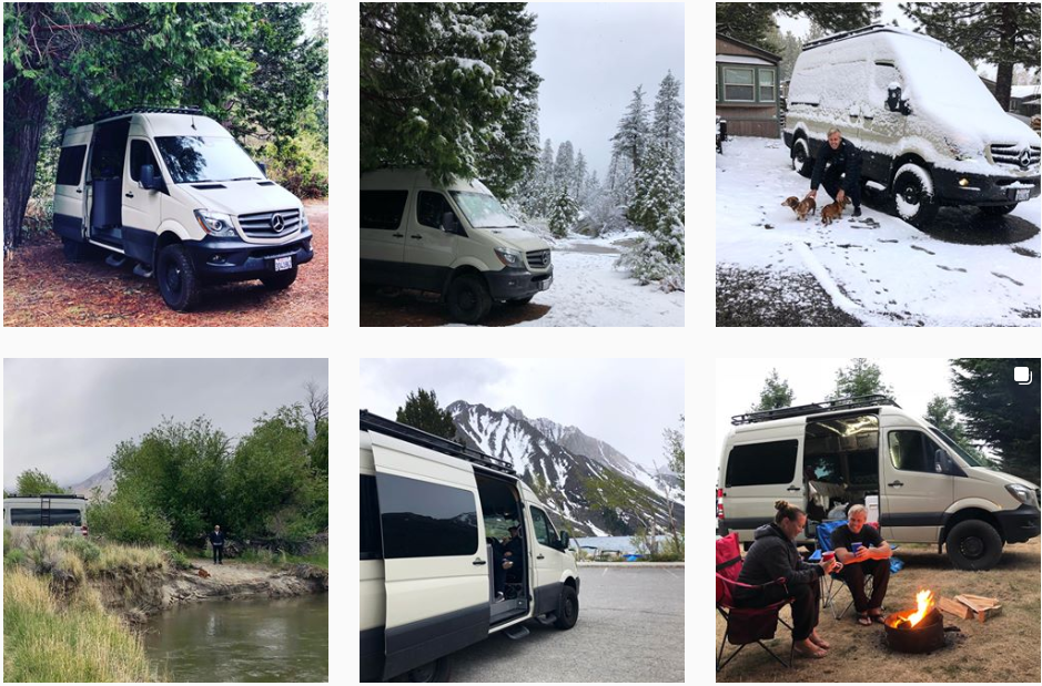 our sprinter van stories